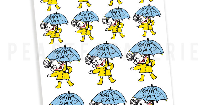 Rainy Day Petty Sticker
