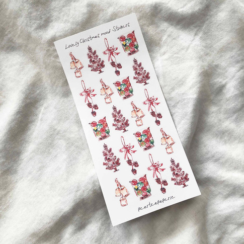 Lovely Christmas mood Stickers