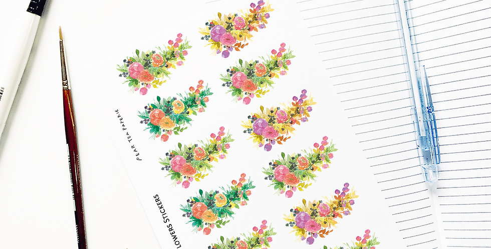 Spring Mood flower 005 Stickers