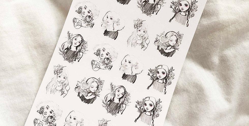 Mini Flower girls 4th series
