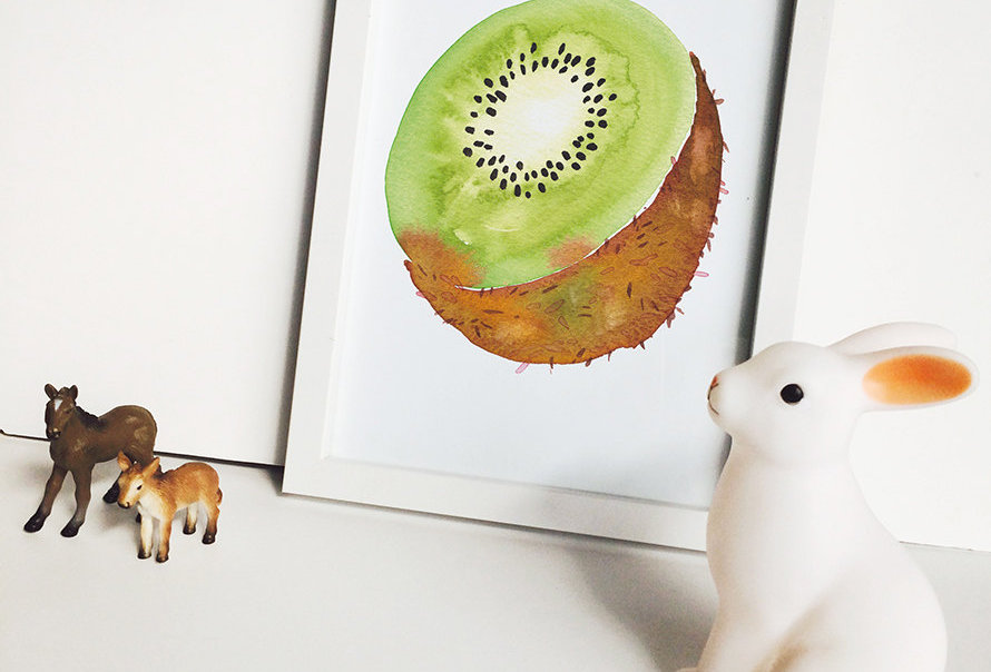 Kiwi Poster Art