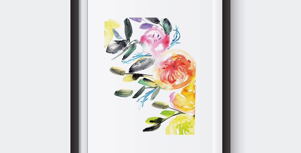 Flower Rainbow Bunch
