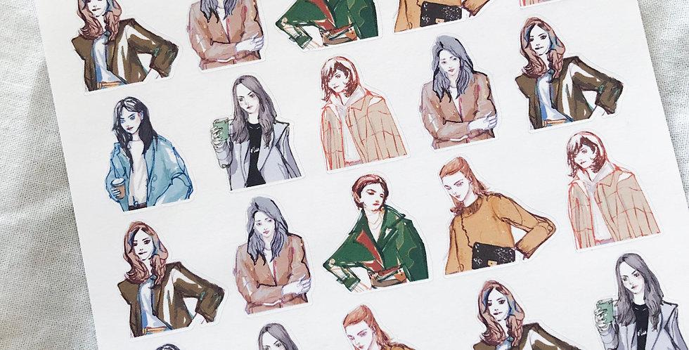 Mini Autumn Street Fashion Girls 2020 - Upper Body Ver.
