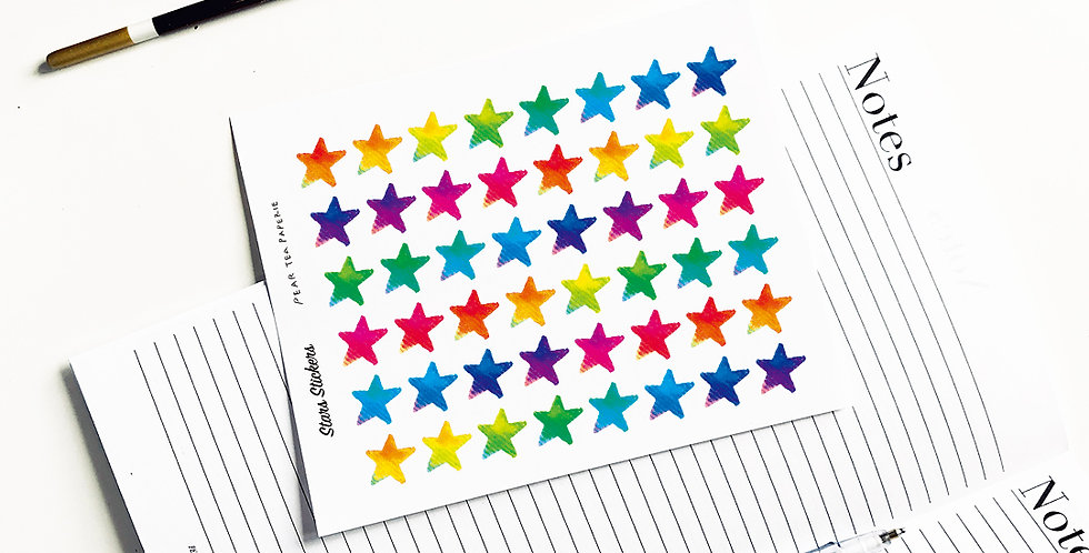 Vivid Star stickers