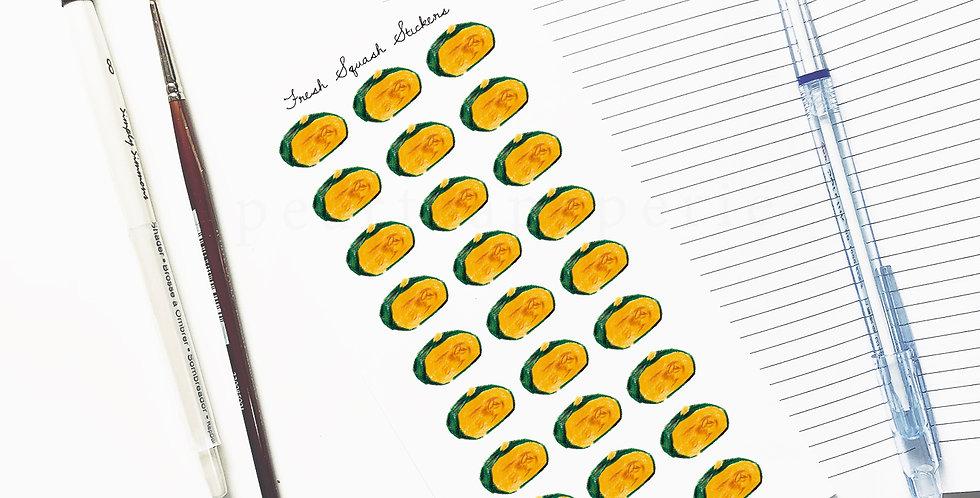 Fresh Squash 002 stickers
