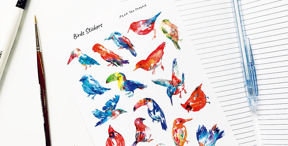 Birds Stickers