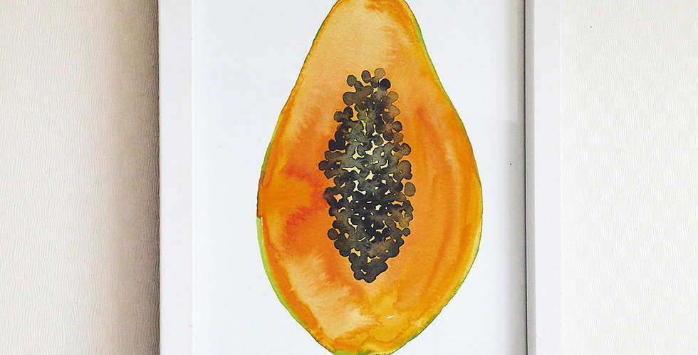 Papaya Poster Art