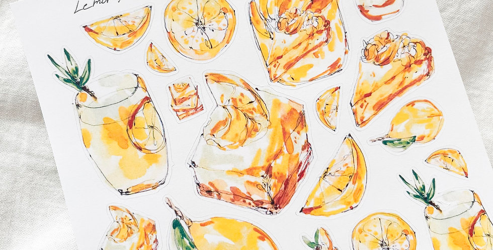 Lemon Addict Stickers