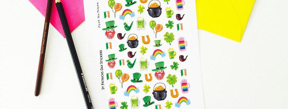 Saint Patricks Day Stickers