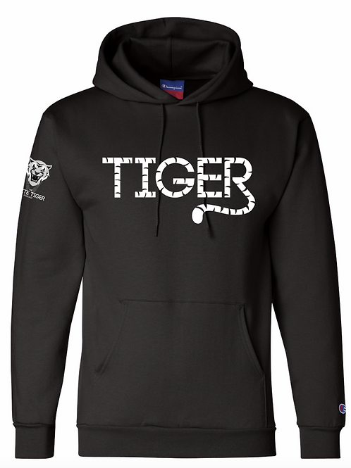 "CHAMPION PULLOVER ""TIGER"" HOODIE"