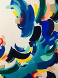 Fresque marine (détail)