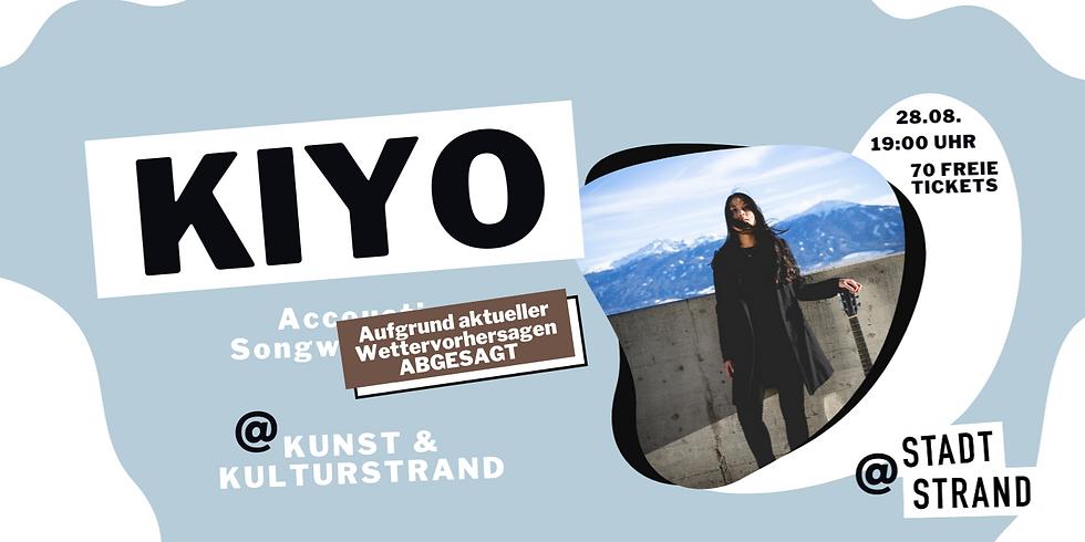 KIYO       Live @ Kunst- und Kulturstrand Düsseldorf