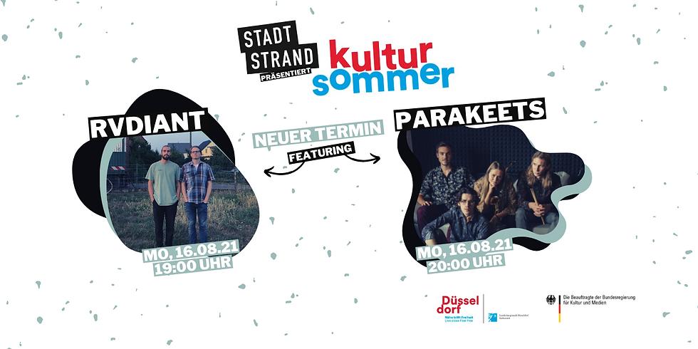 KULTURSOMMER         Live @ Kunst- und Kulturstrand Düsseldorf