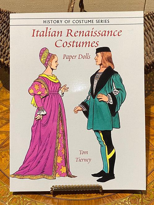 Paper Dolls: Italian Renaissance Costumes