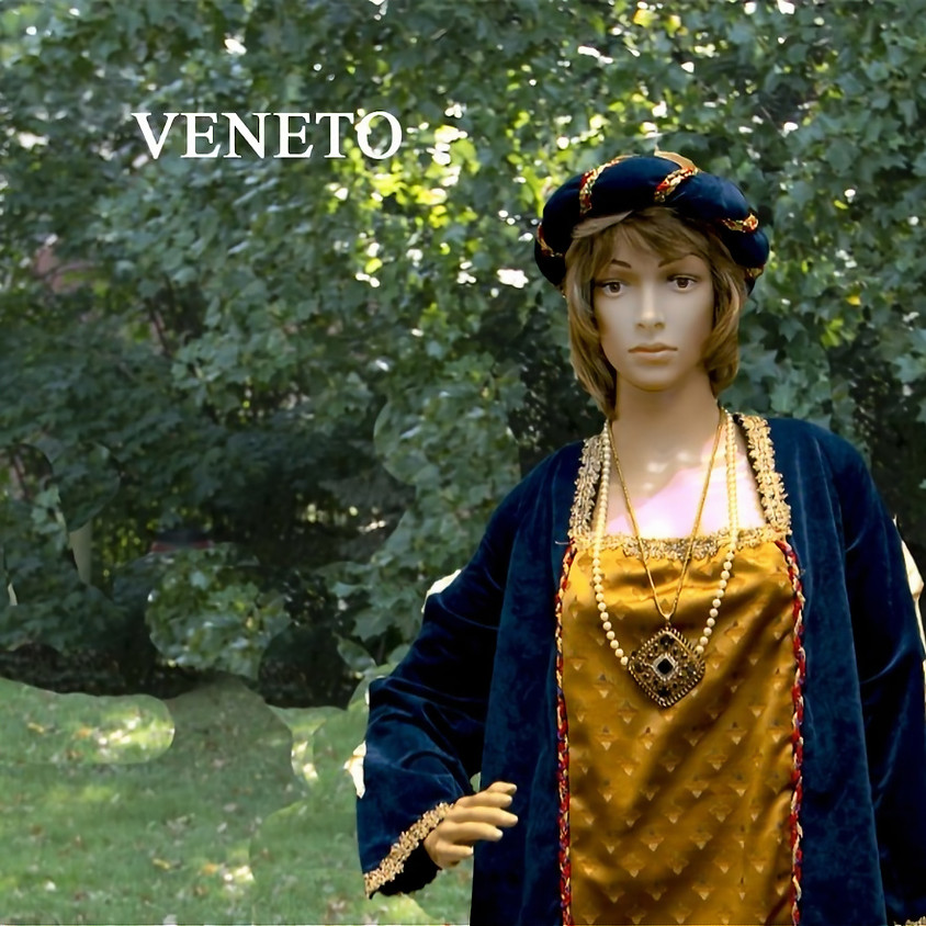 """Currently in our Exhibit """"Veneto Region"""" The Fashions and Faces of the Regions of Italy"""