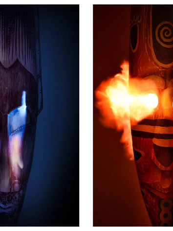 mask.diptych