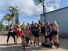 CrossFit Coastal Edge - Shooting hoops