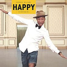 """Lorsqu'il est """"happy"""", Pharrell Williams voit la vie en jaune..."""
