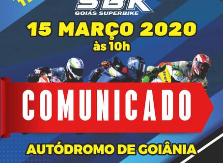 COMUNICADO OFICIAL -CORONA VÍRUS