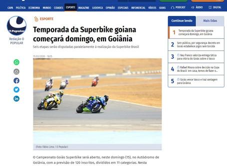 Temporada da Superbike goiana começará domingo, em Goiânia - Jornal O Popular