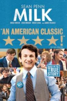 Actor Sean Penn as Harvey Milk