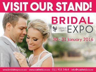 Come and See us @ Bridal Expo