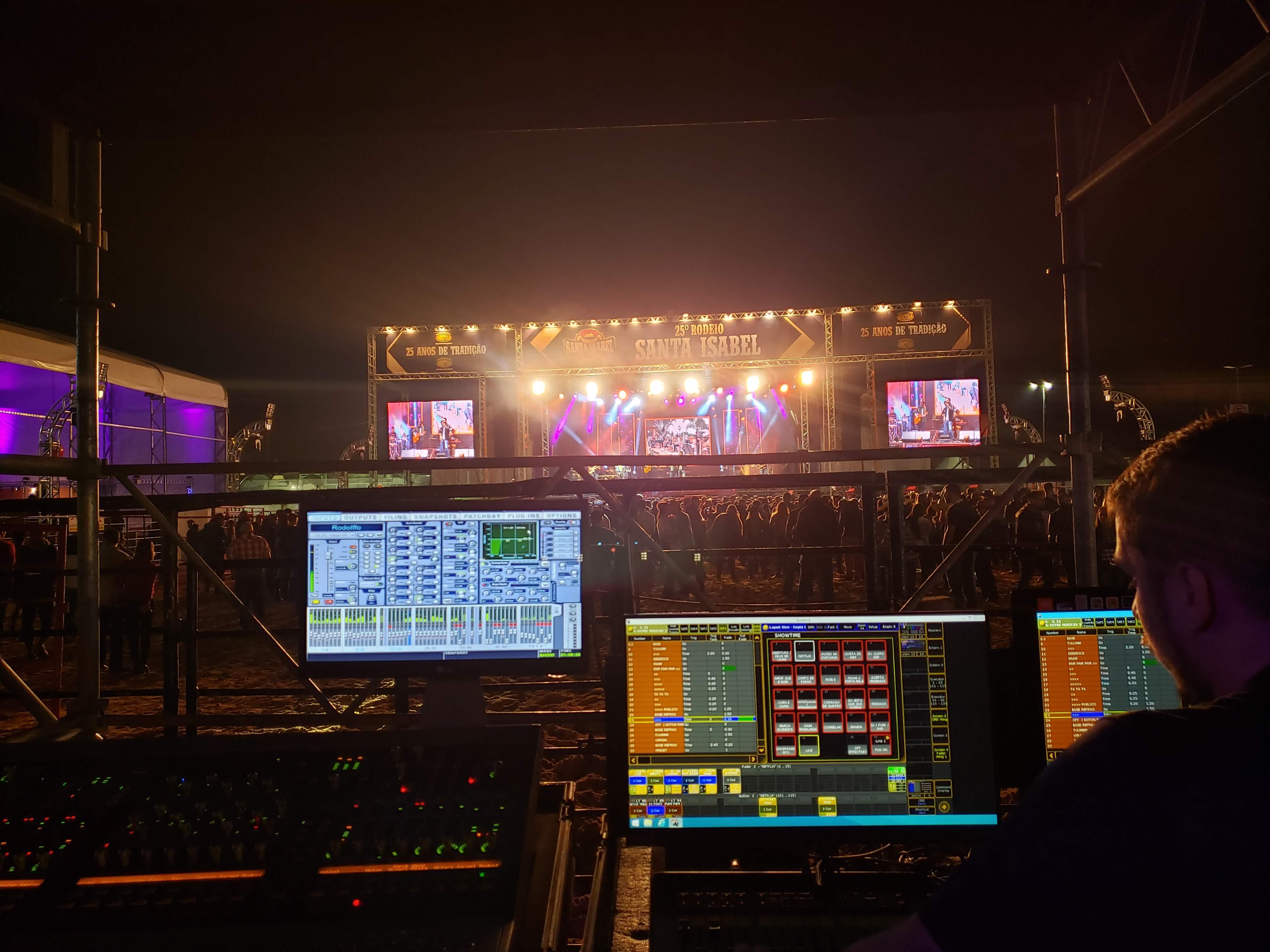 LCE Eventos - Equipe LCE - Estrutura Iluminação Som Eventos