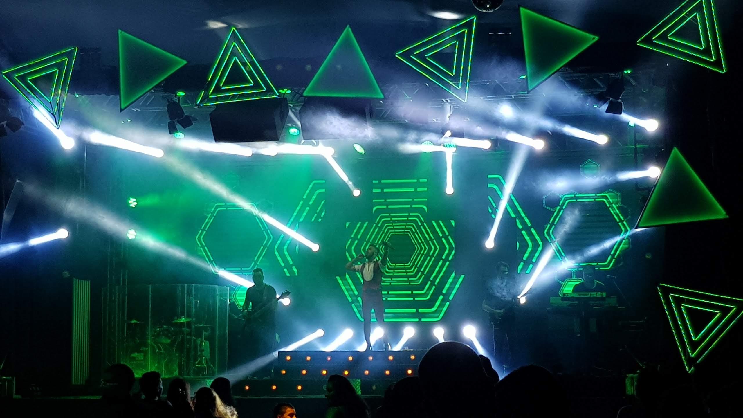 LCE Eventos - Banda Palace - Estrutura Iluminação Som Eventos