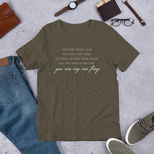 One thing - Short-Sleeve Unisex T-Shirt
