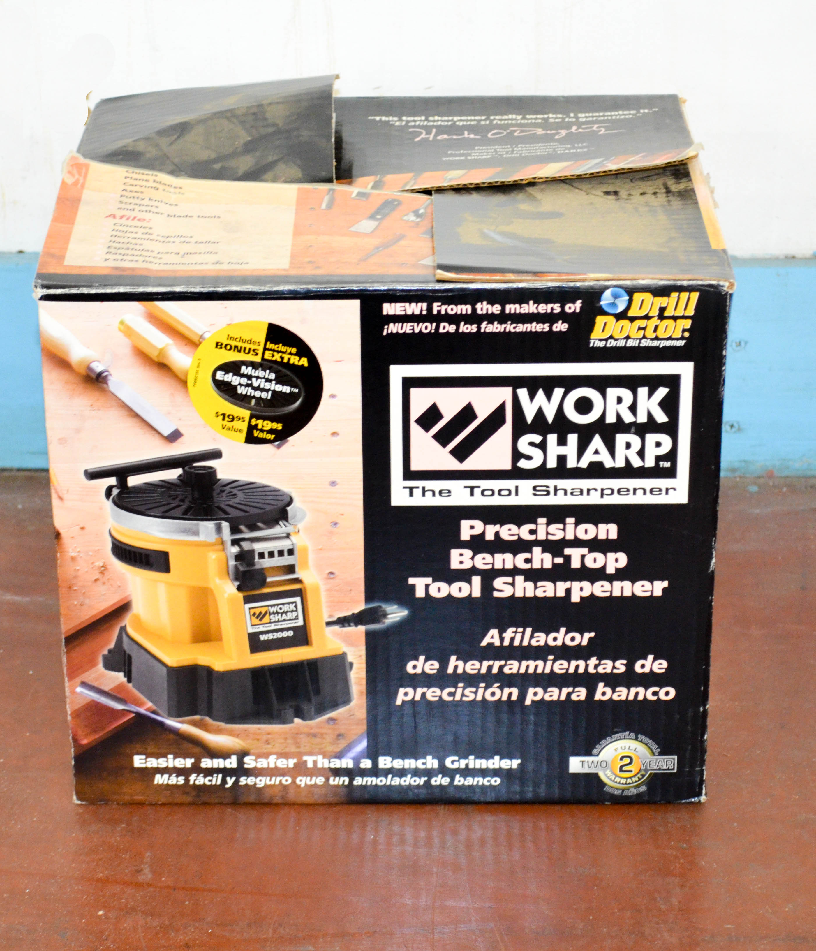 84 Work Sharp Bench Top Took Sharpener