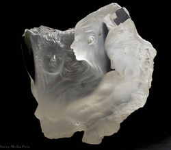 Michael Wilkerson Acrylic Sculpture