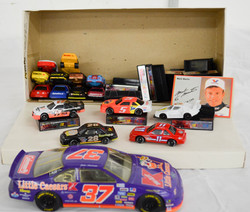 148 Race Car Box Lot