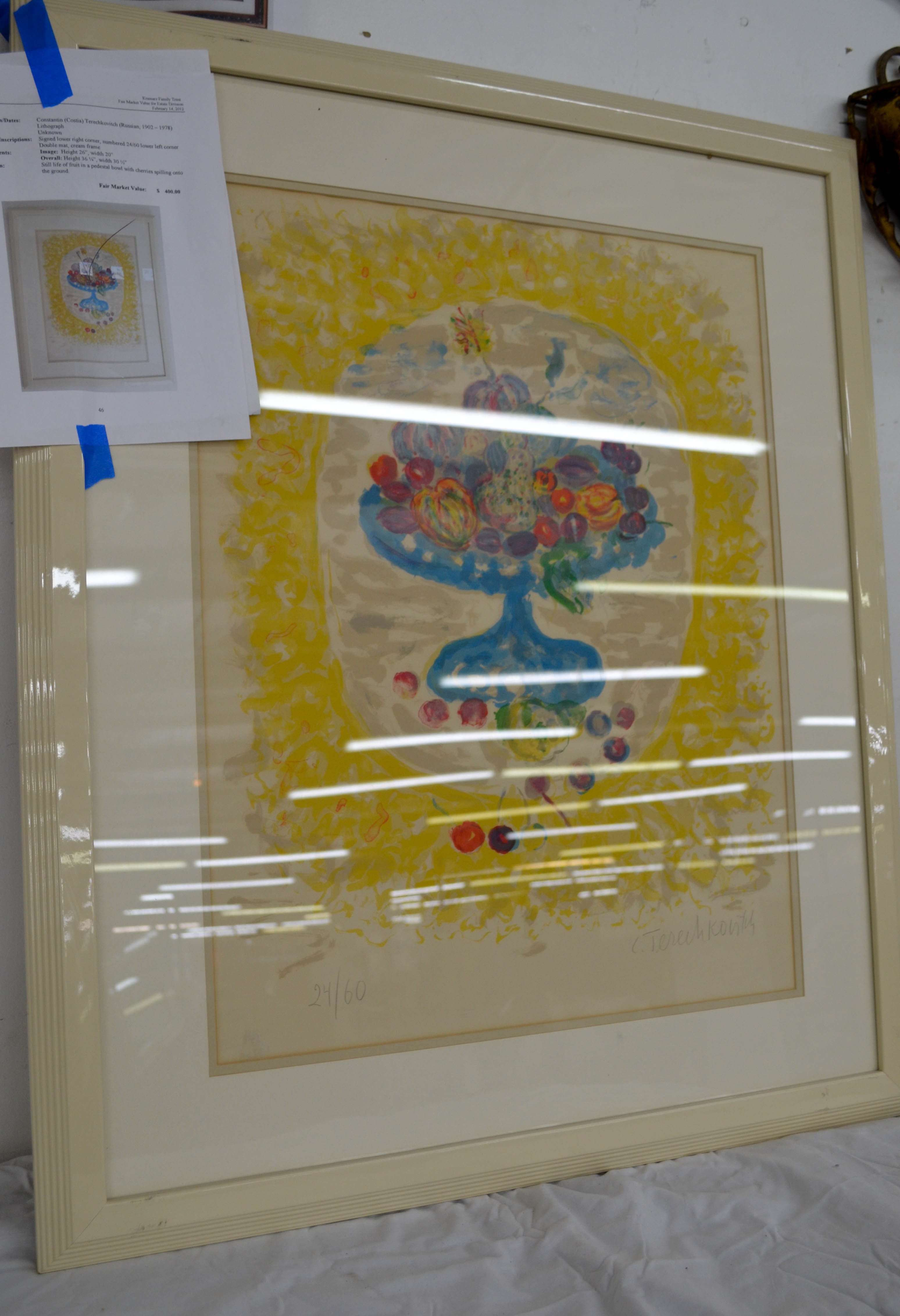 162 Constantin Lithograph Appraised $400