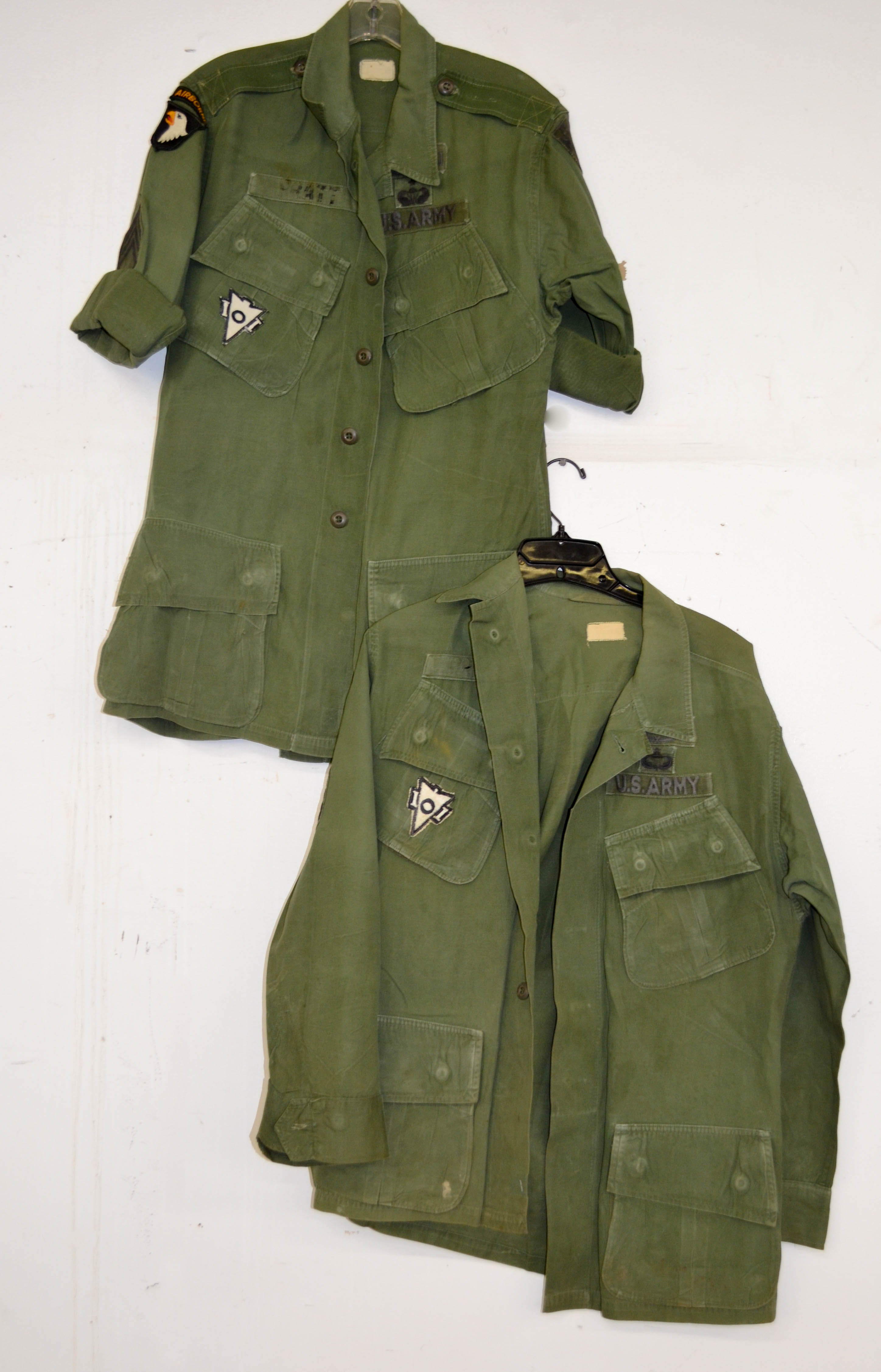65 Two Piece US Army Airborn Lot