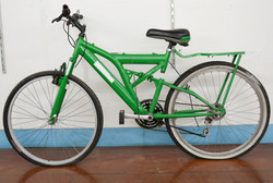 103 Green Frankinstein Bike