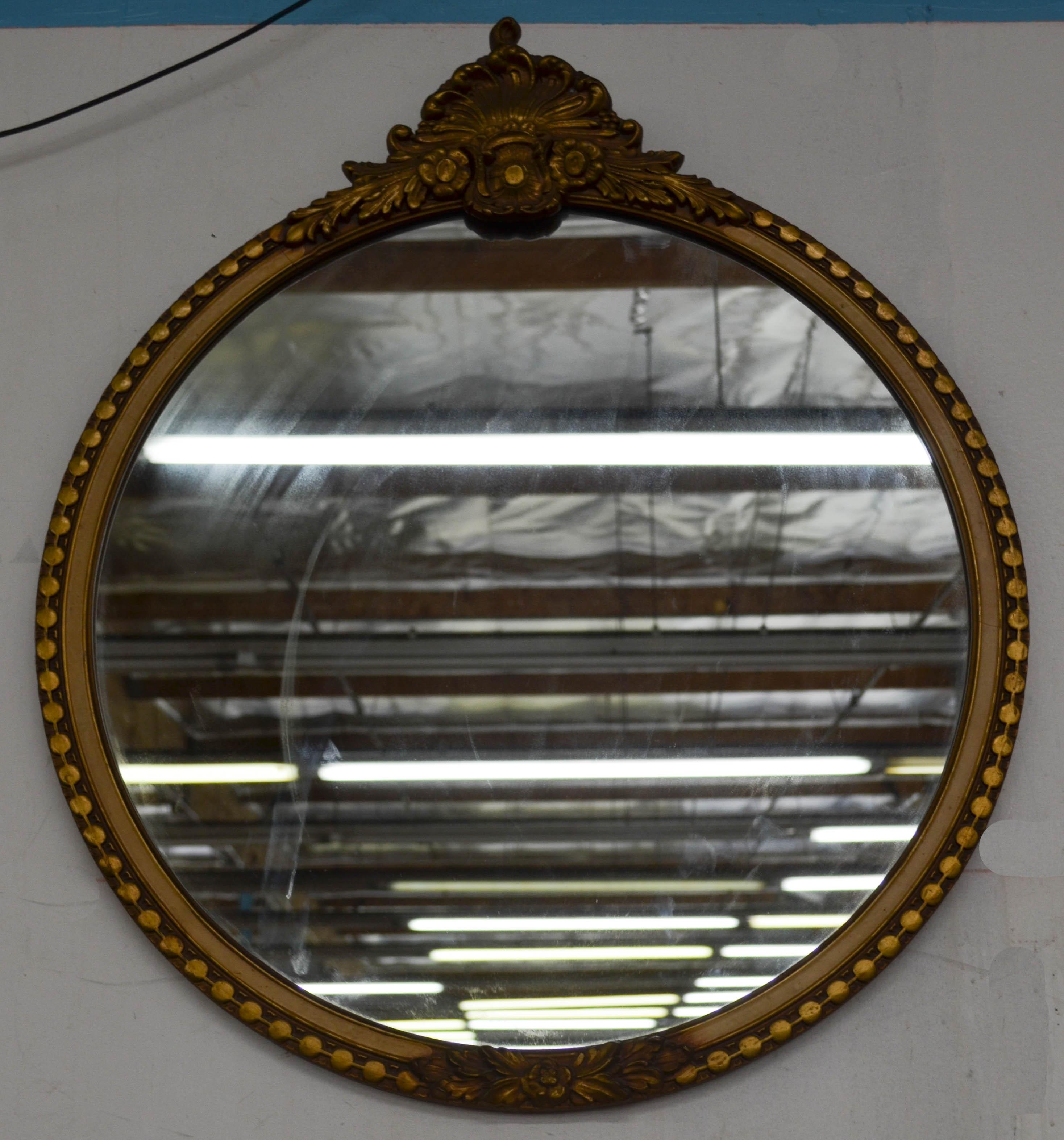 91 Round Mirror