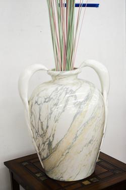 13 Faux Marble Vase