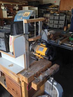 Wood Shop Machinery 7