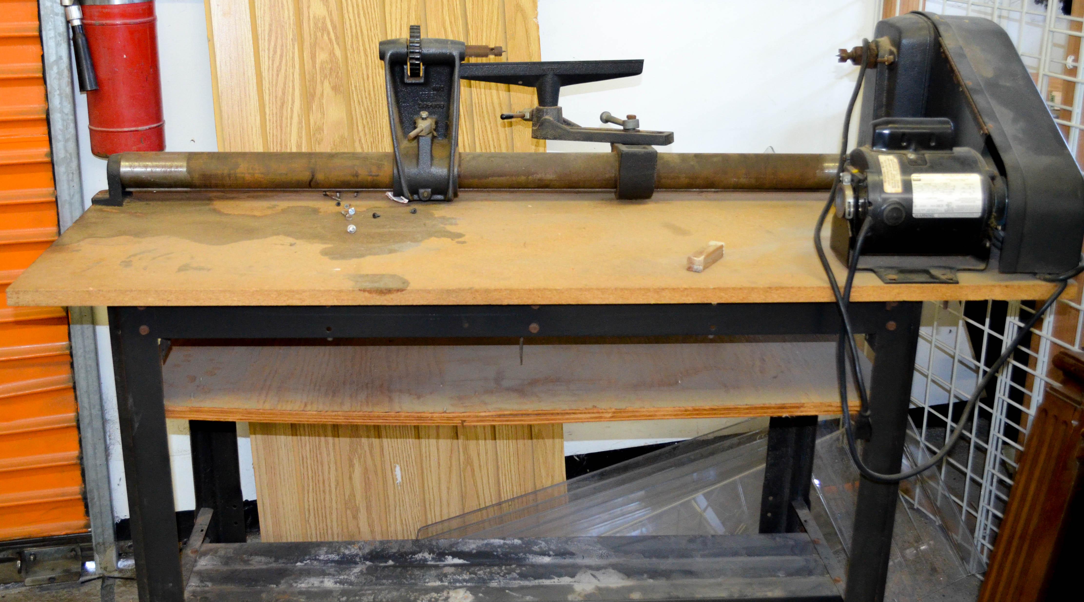 120 Craftsman Lathe Bench