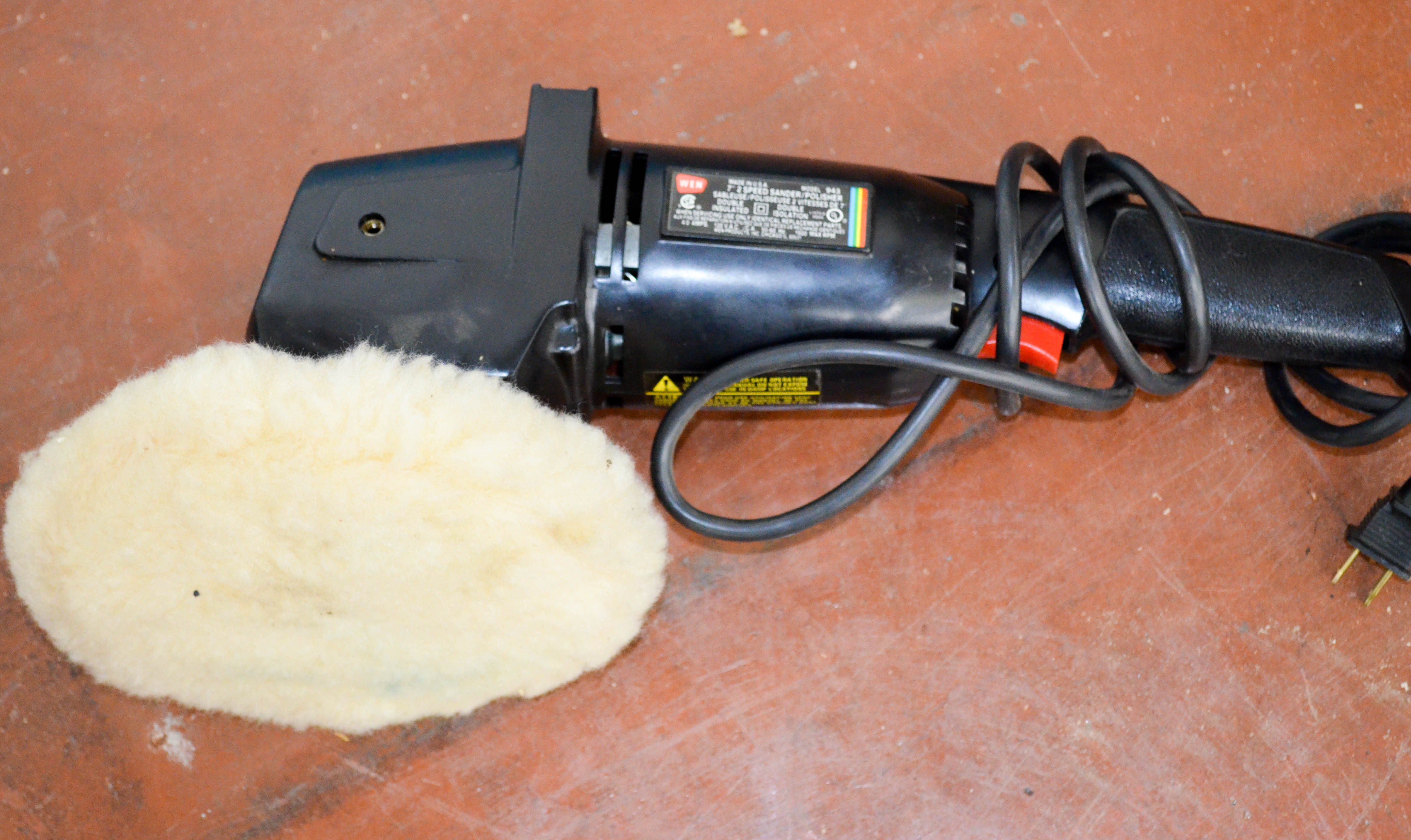 86 Seven Inch 2 Speed Polisher Sander