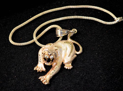 31 Silver Tiger Necklace
