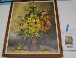 158 Egeghy Oil On Canvass Appraised $200