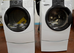 145 Kenmore Elite Washer and Gas Dryer