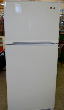 127 White LG Fridge