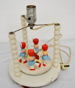 75 Old Musical Drumer Boy Lamp