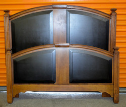 119 Full Size Wood Head and Foot Board Set