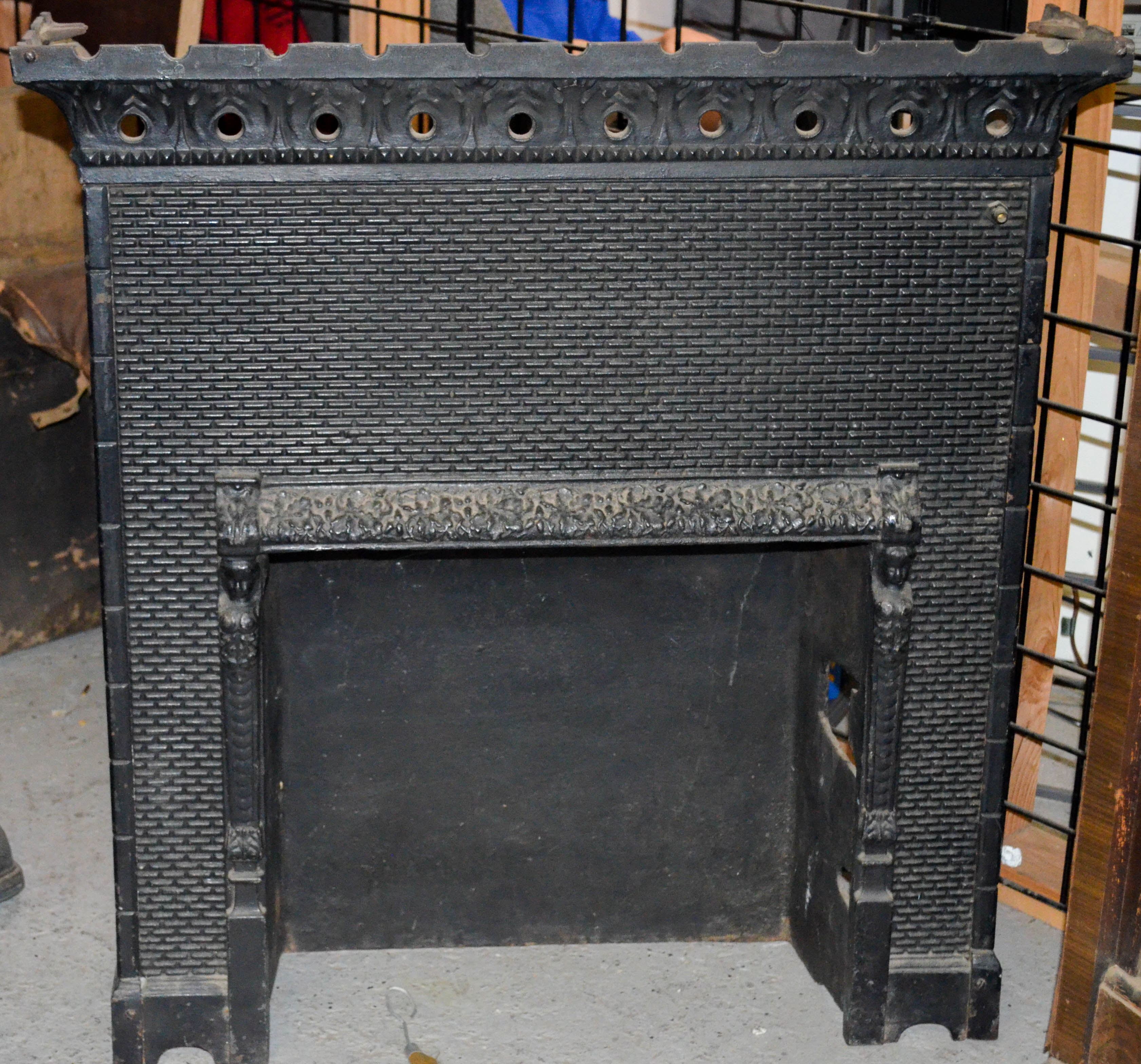 130 Cast Iron Fireplace Insert