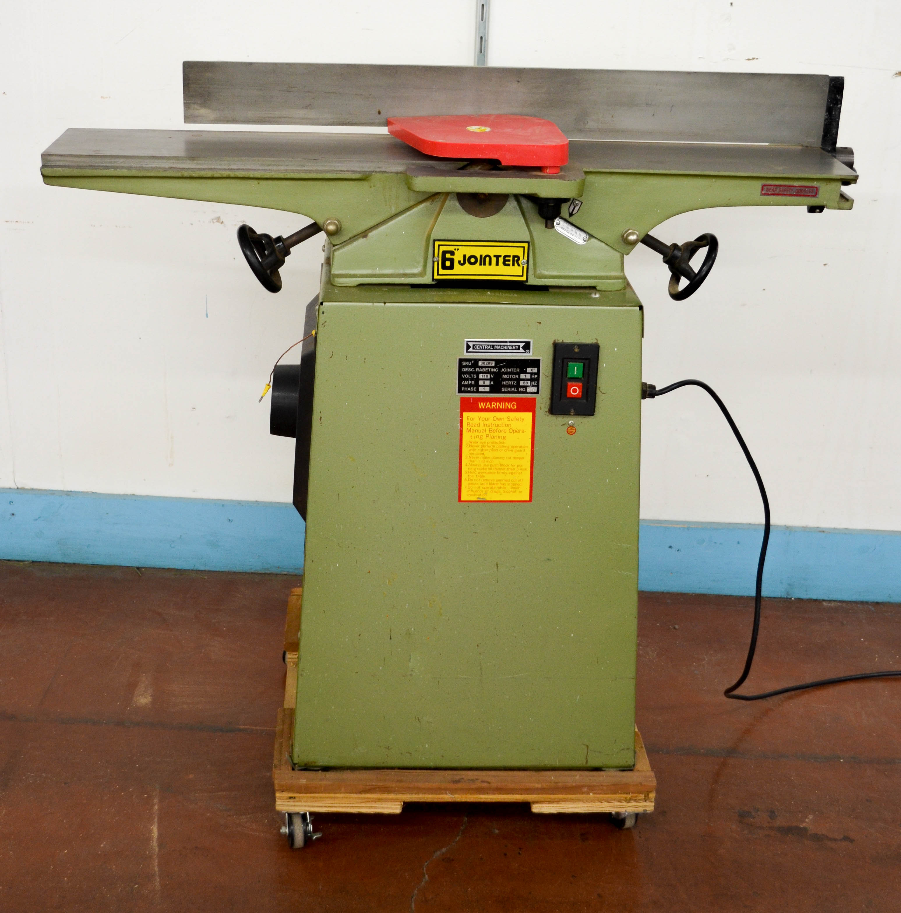 43 Central Machinery 6inch Joiner