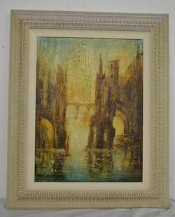 146 John Hamilton 146 Oil on Canvass Appraised at $500