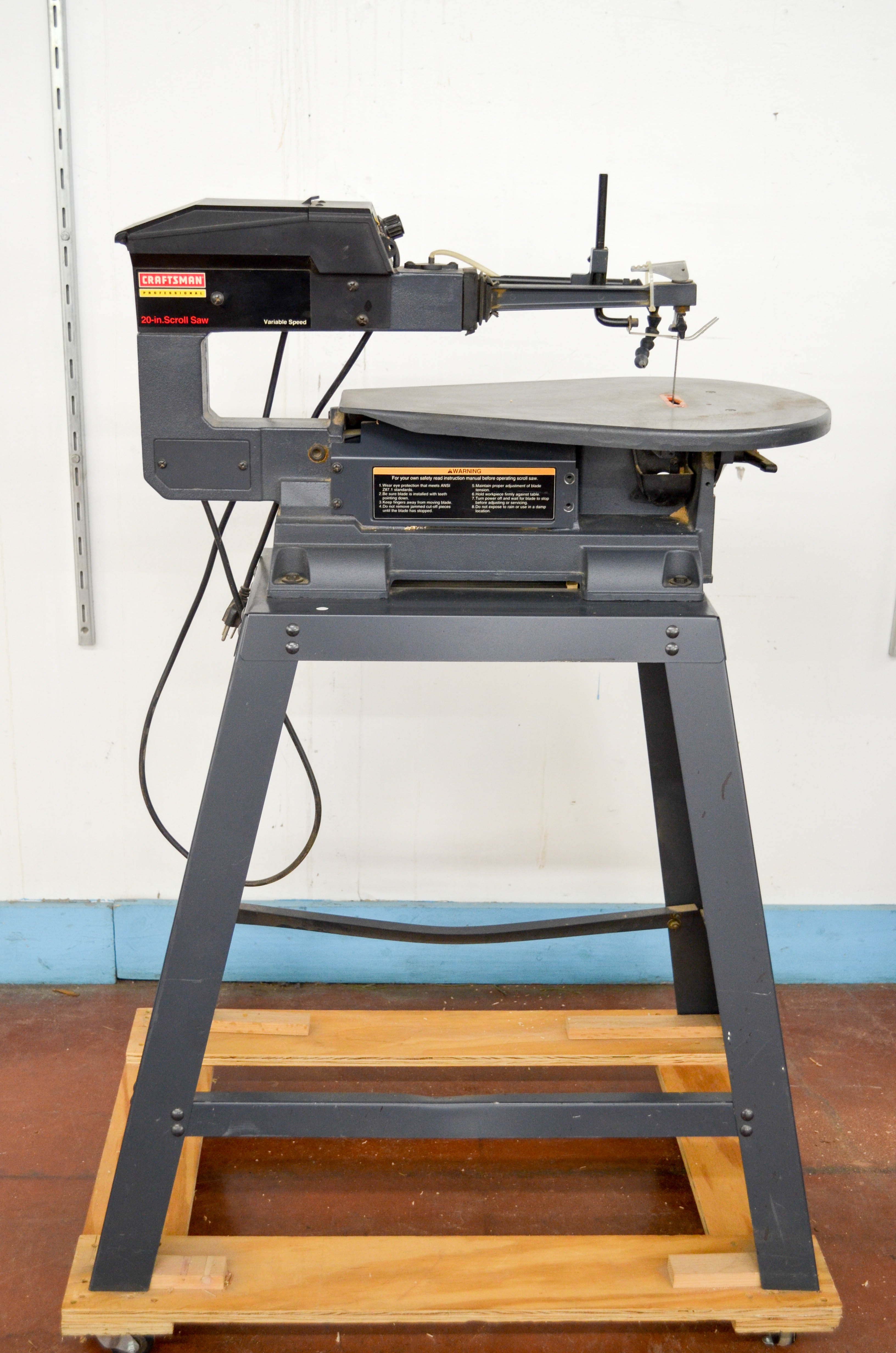 74 Craftsman 20inch Scroll Saw